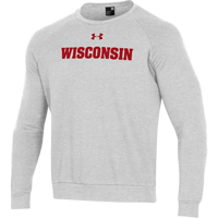 Image For Under Armour WI All Day Fleece Crew Sweatshirt (Gray) *