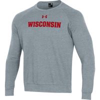 Image For Under Armour WI All Day Fleece Crew Sweatshirt (Char) *