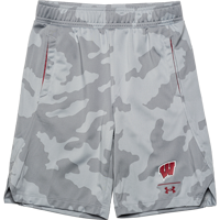 Image For Under Armour Youth WI Locker Shorts (Camo) *