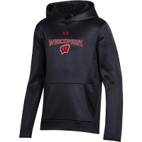 Cover Image For Under Armour Youth WI Armour Fleece (Black)