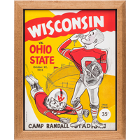 Image For Asgard Press Framed Wisconsin Print (10-22-1955)