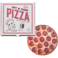 Image For Fred Pizza Coaster Set *