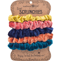 Image For Natural Life Scrunchie 5-Pack (Bright) *