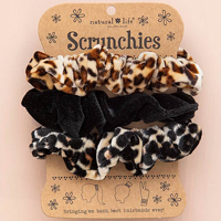 Image For Natural Life Scrunchie 3-Pack (Animal Print) *