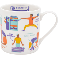 Image For GingerFoxUK Office Yoga Mug *