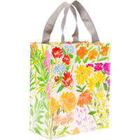 Image For Blue Q Handy Tote-Flower Garden *