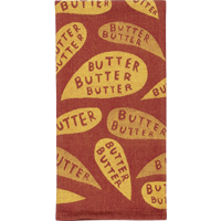 Image For Blue Q Dish Towel-Butter, Butter, Butter *