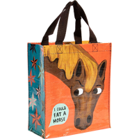 Image For Blue Q Handy Tote-I Could Eat a Horse *