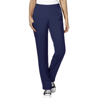 Image For Nursing School W123 Women's Scrub Pant (Navy) Plus