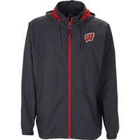 Image For Vantage WI Full Zip Wind Jacket (Gray)