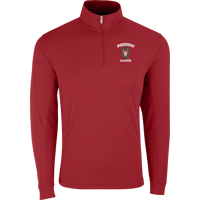 Image For Vantage WI Alumni ¼ Zip Tech Pullover (Red) 3X