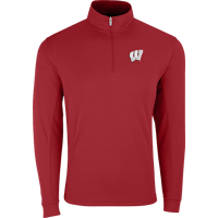 Image For Vantage WI ¼ Zip Tech Pullover (Red)