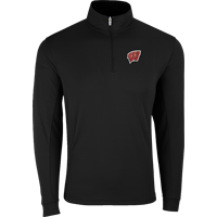 Image For Vantage WI ¼ Zip Tech Pullover (Black) 3X