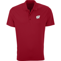 Image For Vantage WI Omega Tech Polo (Red)