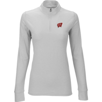 Cover Image For Vantage Women's WI ¼ Zip Pullover (Gray)