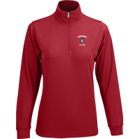 Cover Image For Vantage Women's WI Alumni ¼ Zip Tech Pullover (Red)