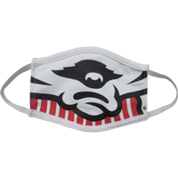 Image For Third Street Sportswear Bucky Smile Cotton Face Mask(Tod)