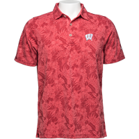 Image For Tommy Bahama WI Leafbacker Polo (Red)