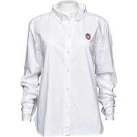 Image For UG Apparel WI Women's Classic Poplin Shirt (White) Plus