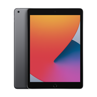 "Image For Apple iPad 10.2"" 8th-Gen 128GB; Wi-Fi (Space Gray)"
