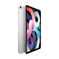 "Cover Image For Apple iPad Air 10.9"" 4th-Gen 256GB; Wi-Fi (Silver)"