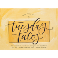 Image For 1Canoe2 Grow Your Own Tuesday Tacos Kit *