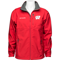 Image For Columbia WI Ascender Softshell Jacket (Red)