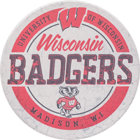 Image For Legacy WI Badgers Coaster