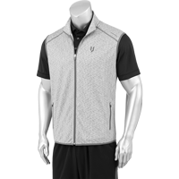 Image For Iron Joc Performance Fleece Vest (Grey Heather)