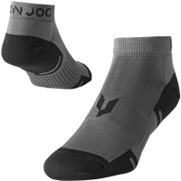 Image For Iron Joc Performance Lo-Cut Socks (Grey)