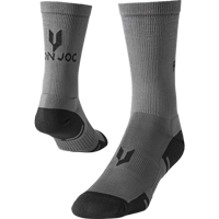 Image For Iron Joc Performance Crew Socks (Grey)