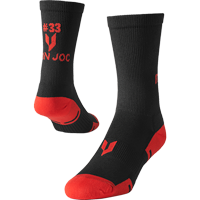 Image For Iron Joc Ron Dayne Performance Crew Socks (Black)