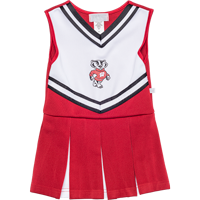 Image For Third Street Infant/Toddler Bucky Badger Cheer Outfit (R/W)