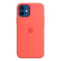 Image For Apple iPhone 12/Pro Silicone Case with MagSafe (Pink Citrus)