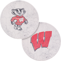 Image For Legacy Wisconsin Badgers Car Coasters
