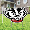 CDI Bucky Badger Lawn Sign Image