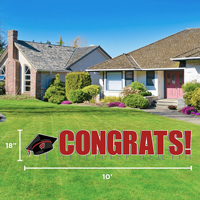 Image For CDI Congrats Wisconsin Lawn Sign