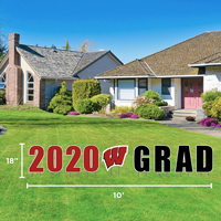 Image For CDI 2020 Wisconsin Grad Lawn Sign