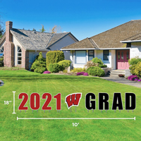 Image For CDI 2021 Wisconsin Grad Lawn Sign