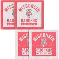 Image For Legacy 4 Pack of Wisconsin Coasters