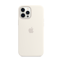 Image For Apple iPhone 12 Pro Max Silicone Case: White