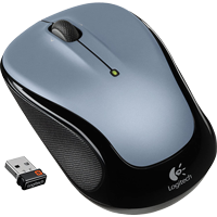 Image For Logitech M325 Wireless Mouse-Silver