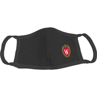 Image For Alta Gracia Wisconsin Face Mask W (Black)