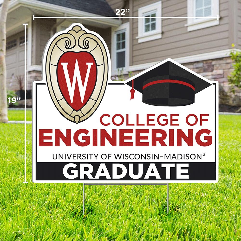 CDI Engineering Graduate Lawn Sign