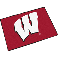 Cover Image For Fanmats Wisconsin W Door Mat