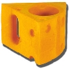 Image for Foamation Cheese Can Coozie