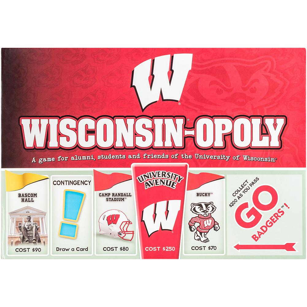 Branding Bascom Hall With Big Red W >> Wisconsinopoly Game University Book Store