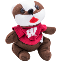 Image For MCM Group Inc. Bucky Badger Bean Bag Plush