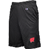 Image for Champion Wisconsin Badgers Mesh Shorts (Black)
