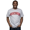 Image for Champion Arch Wisconsin T-Shirt (Gray)